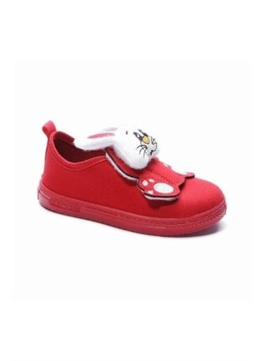 Pilsan Sanbe 105S032 Çocuk Panduf Ayakkabı Kırmızı 20-25 Kırmızı